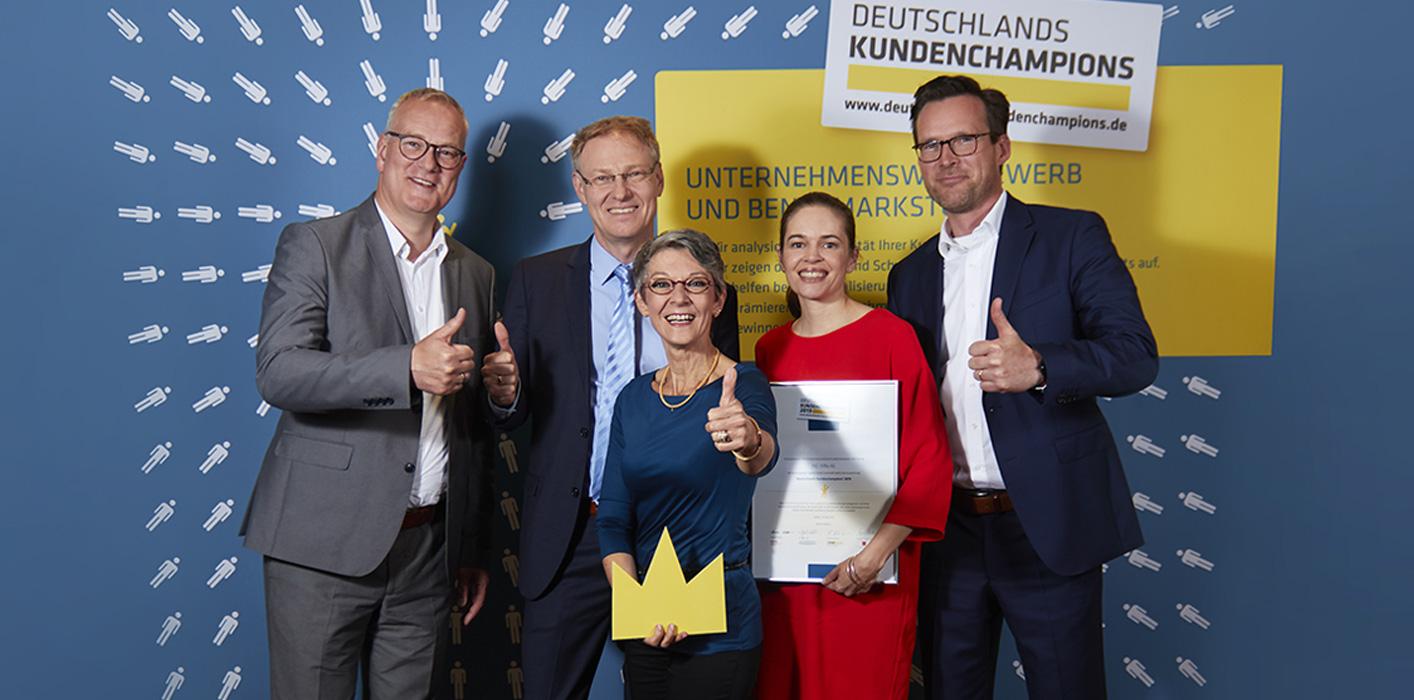 Webseite von Deutschlands Kundenchampions